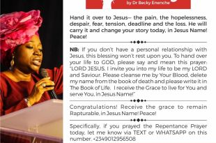 DAILY BLESSINGS DR BECKY ENENCHE