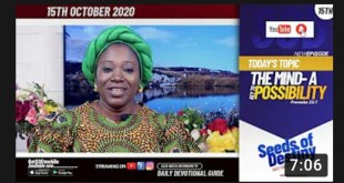 Dr Becky Paul-Enenche - SEEDS OF DESTINY - THURSDAY OCTOBER 15, 2020