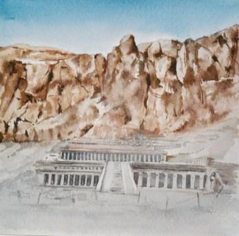 Deir El Bahari - Egypte
