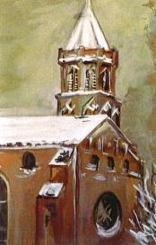 Église St Nicolas sous la neige - Toulouse 31