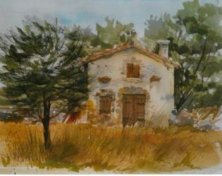 Le Villaret, la maison au cadran solaire