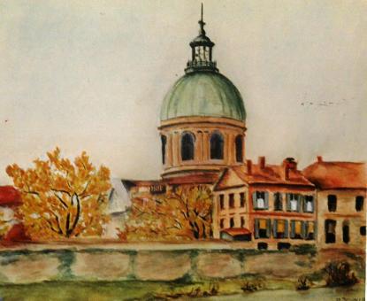 Le dôme de La Grave 1942 - Toulouse 31