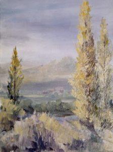 Paysage vers Carcassonne