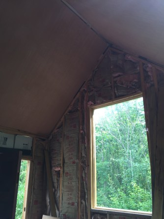 Tiny Cabin Ceiling Great Window