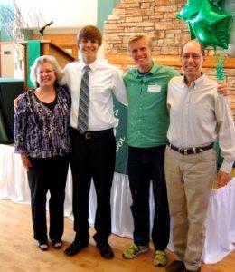 Roberta, Alec, Keagan, and Jon - May 28 2012