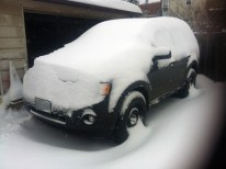 Snow Covered Car (Before)