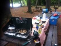 Lunch in Bon Echo