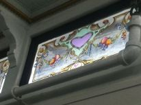SS Keewatin Italian Painted Glass