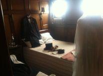 Passenger accommodations wedding