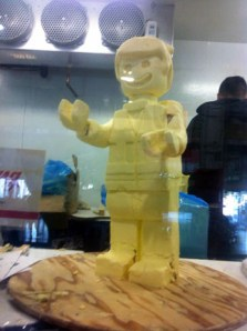 CNE Butter Carving