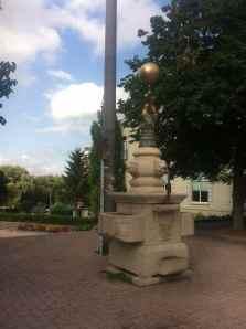 Stratford in town Freeland Fountain