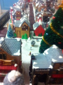 Christmas Town / Train: Play area