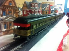 Christmas Town / Train: Rear View