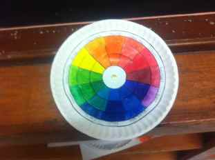 Colour Wheel Student's Work
