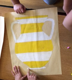 Colouring the Greek Vase