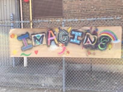 Group Graffiti Art project