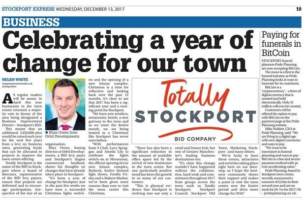 Stockport Express, December 13th, 2017