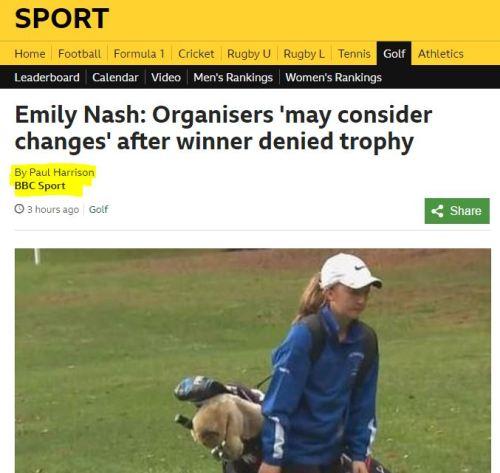 Emily Nash BBC