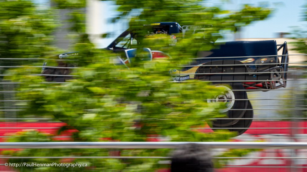 Super Stadium Truck in the treetops