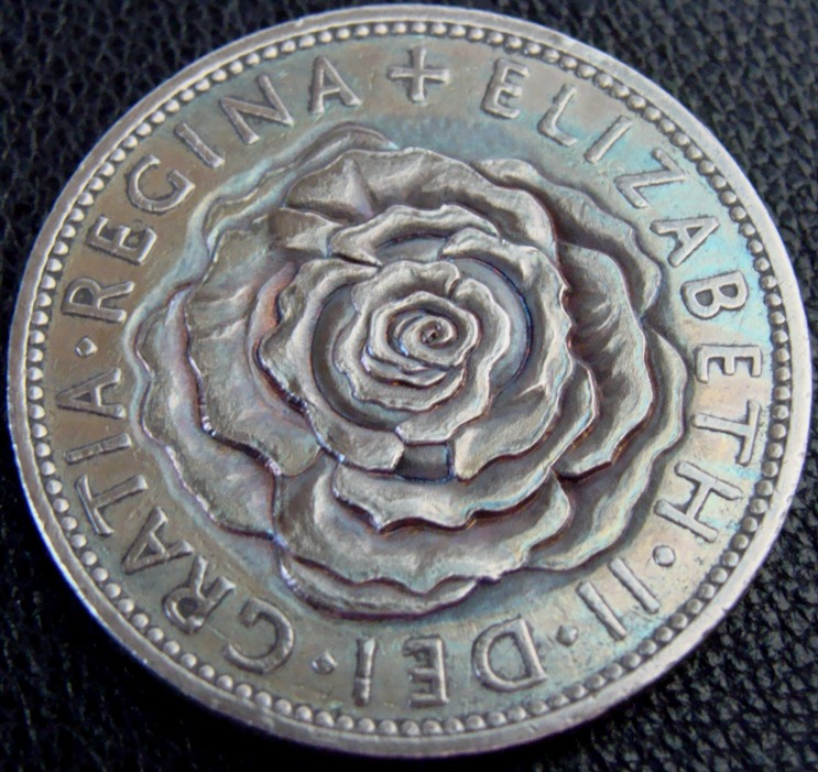 Paul Holbrecht » 'A Rose For The Queen' Hobo nickel/coin