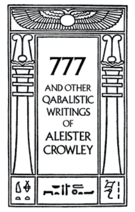 777 and otherQabalistic Writings