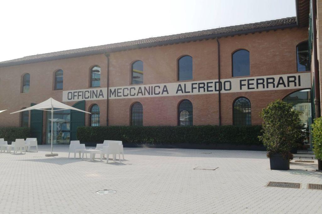 Hier wurden die ersten Ferrari-Motoren entwickelt