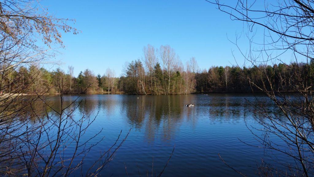 Die Seenlandchaft erinnert stark an Skandinavien
