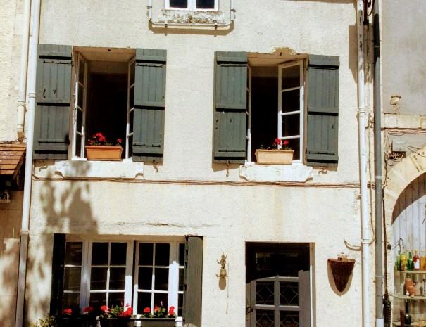 La maison de Mme Vivier à Verteillac