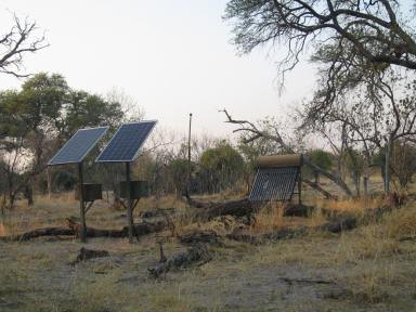 Solar to power camp