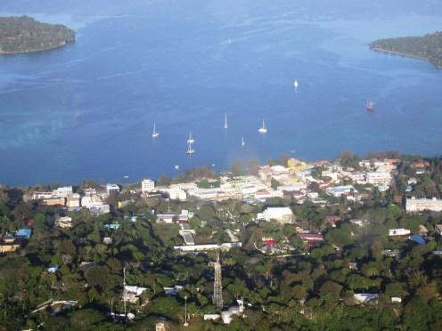 Port Vila Vanuatu from the air 1