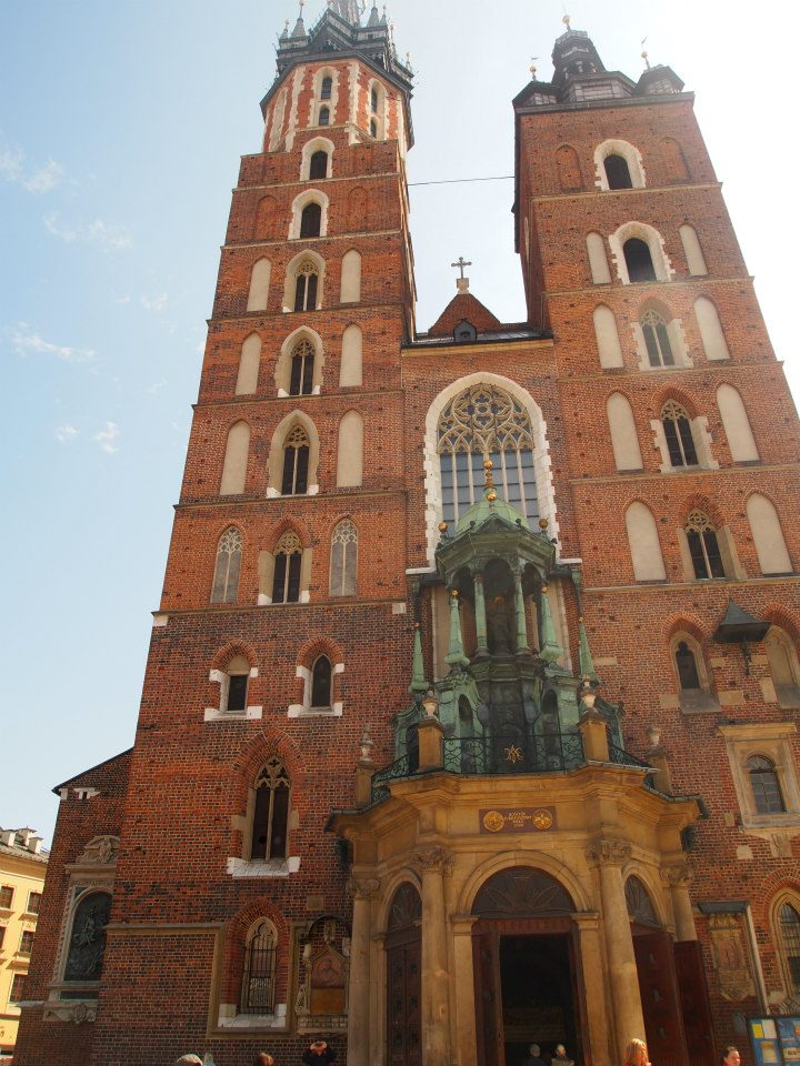 Frontal de la catedral de Cracovia