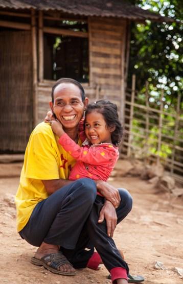Neben einer linguistischen Vielfalt regiert in Laos die Sprache des Lächelns