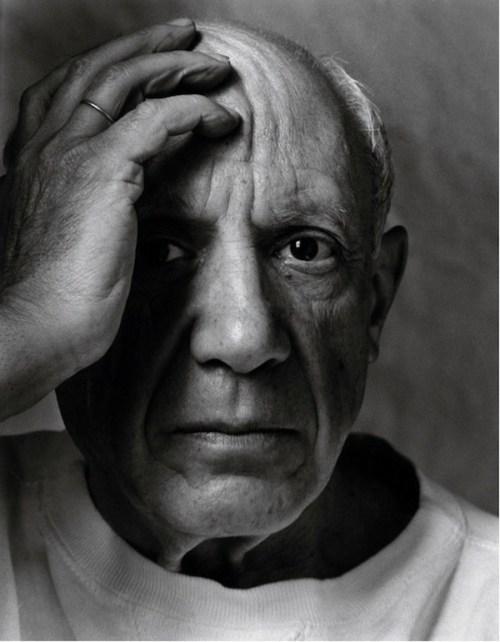 Pablo Picasso. Foto: Arnold Newman
