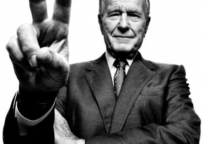 George Bush. Foto: Platon