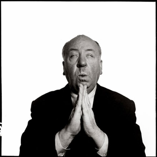 Alfred Hitchcock. Foto: Richard Avedon