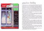 Milk Magazine cover competition finalist - November 2010