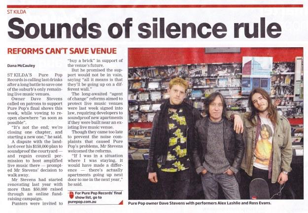 Glen Eira/Port Phillip Leader 12th August 2014