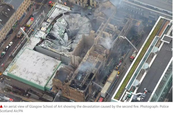 Glasgow School of Arts fire 2018