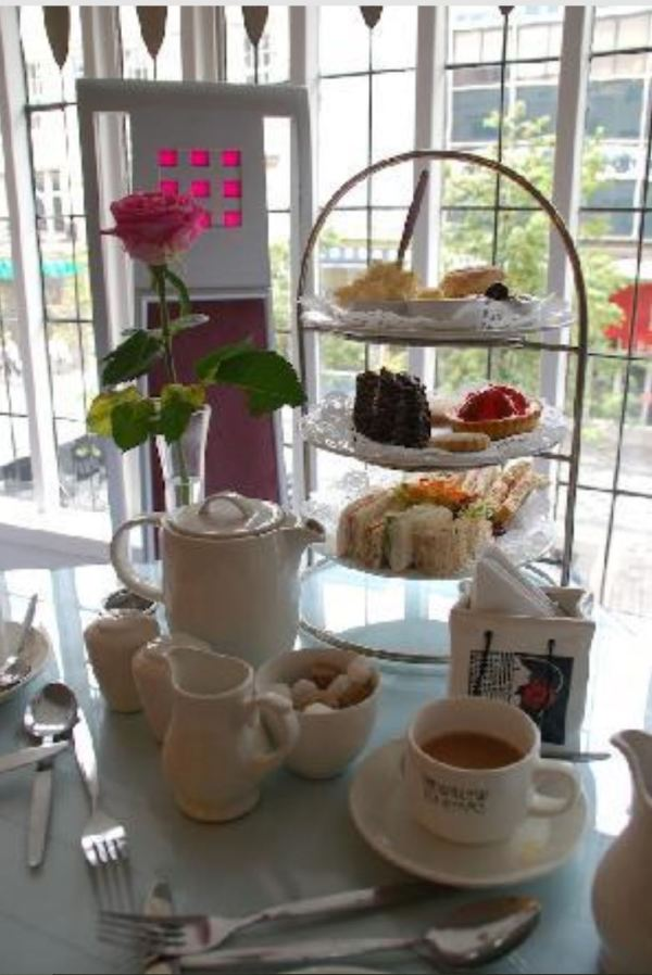 Glasgow's Afternoon Tea at the Willow Tearooms