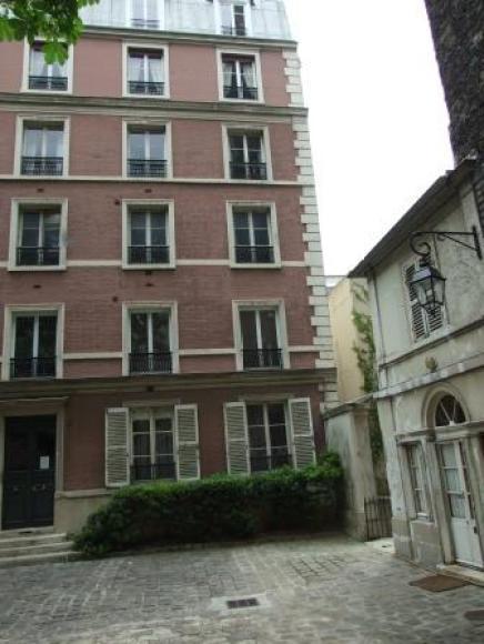 Mlle Doudet's Paris school. Doudet was once wardrobe mistress to Queen Victoria.