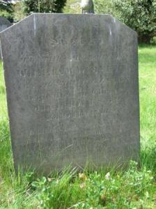 William's lonely grave at Reading.