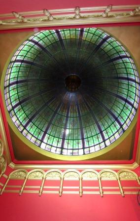 Central dome of the building.