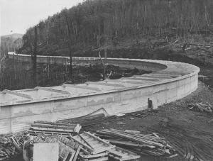 Tarraleah No.2 Canal Construction - 4