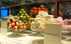 Marshmallows and candies fruits - Fortnum & Mason.