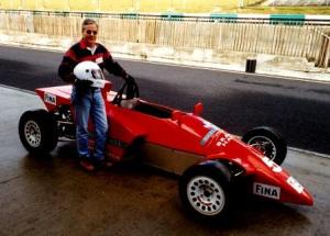 Boy racer Dr Bob.