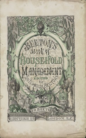 Household Manageent by Mrs Beeton (Wikipedia)