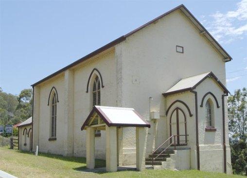 St Ann's Church, Paterson (Photographer Brian Walsh) Charles Macquarie was a trustee.