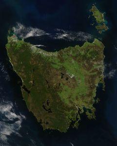 Tasmania, as beautiful from above as it below!