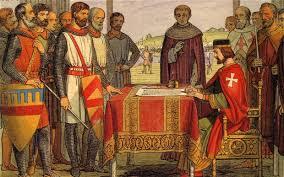 King John succumbs.