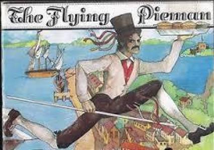 William the Flying Pieman in full stride!